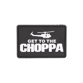 GFCTactical Get to the Choppa - Black - 3D Patch Black
