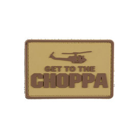 GFCTactical Get to the Choppa - Tan - 3D Patch