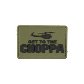 GFCTactical Get to the Choppa - Olive Drab - 3D Patch