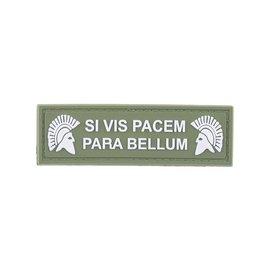 GFCTactical SI VIS PACEM PARA BELLUM - 3D Patch - Green