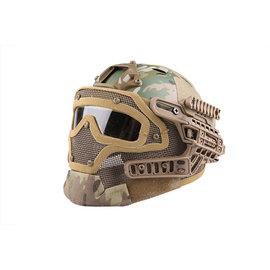 Emerson Gear FAST PJ G4 System Helmet Replica with Face Shield - MC