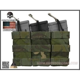 Emerson Gear Emerson Tripple Open Top Magazine Pouch - Multicam Tropic