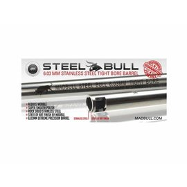 Madbull Stainless Steel Barrel, 6,03x363mm