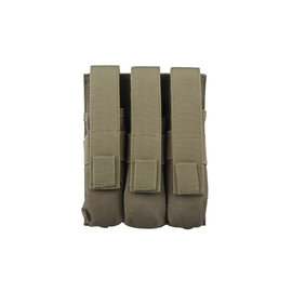 GFCTactical Triple magazine pouch for MP5 type magazines - olive