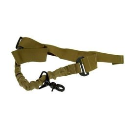 GFCTactical 1-Point Tactical Sling - Bungee, coyote brown