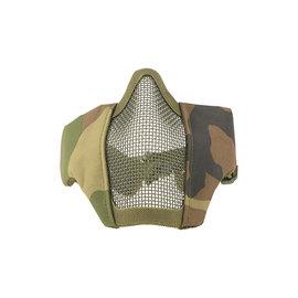 Ultimate Tactical Stalker Evo Mask with Mount for FAST Helmets - Woodland