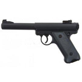 KJW KJWorks MK1 Ruger Gas Pistol (Non-Blowback) - Black