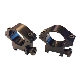 "CCCP CCCP Scope Ring Mounts for Standard 20mm Rails (1"" Tubes - Black)"