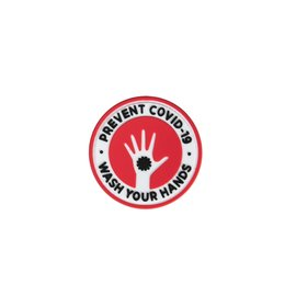 GFCTactical 3D COVID-19 Wash Your Hands - Red