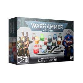 Games Workshop Warhammer 40,000: Paints + Tools Set