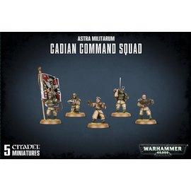 Games Workshop Militarum Cadian Command Squad