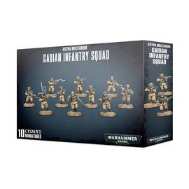 Games Workshop Militarum Cadian Infantry Squad