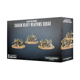 Games Workshop Astra Militarum Cadian Heavy Weapons Squad