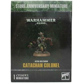 Games Workshop Catachan Colonel custom painted - Raffle ticket