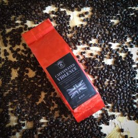 the tactical coffee company CAFFEINATED VIOLENCE. 250G Medium Ground