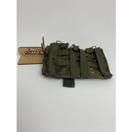Surplus Triple AR mag pouch /W 4 pistol mag pouch - Tropic MC