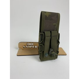 Surplus Single Taco AR mag pouch /W cover - Tropic MC