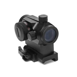 WBD Airsoft T1 Type Red / Green dot Sight with High Riser