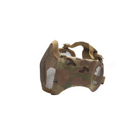 ASG ASG Metal mesh mask with cheek pads and ear protection, MC