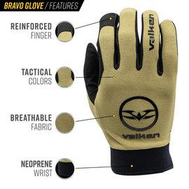 valken Bravo Gloves - Tan