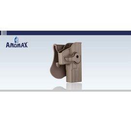 amomax Plastic Glock Holster - FDE