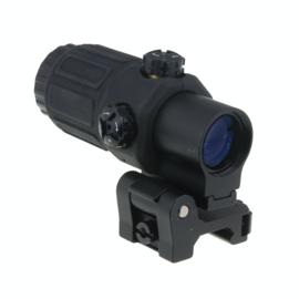 JJ Airsoft G33 3x Magnifier (Black)