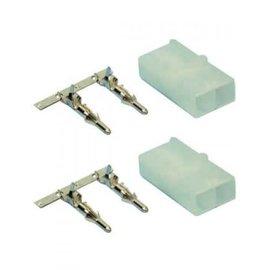 ACM Female Mini Tamiya Connectors and Pins - 2 Pack
