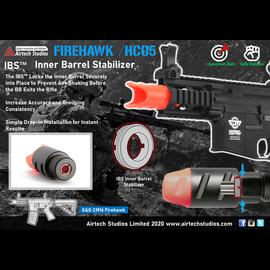 Airtech Studios G&G CM16 Firehawk IBS™ Inner Barrel Stabilizer