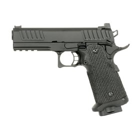 Army Armament 4.3 Hi-Capa Gas Blowback Pistol (R603 - Black)