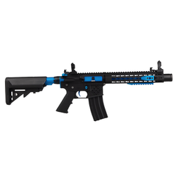 Cybergun Colt M4 Blast Blue Fox Ed AEG. Full metal