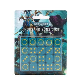 Games Workshop Thousand Sons Dice set