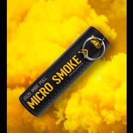 Enola Gaye EG25: Wire Pull® Micro Smoke Grenade yellow