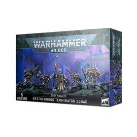 Games Workshop Grey Knights Terminator Squad