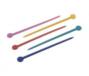 Sibel Plastic Pennetjes Gekleurd  20 stuks