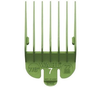Wahl Opzetkam Plastic 22mm Groen