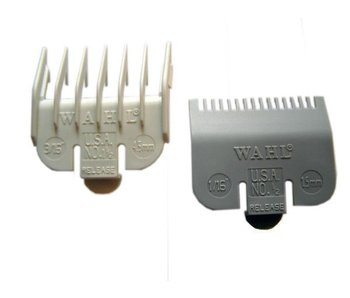 Wahl Opzetkammen Plastic Set - 1,5 en 4,5 mm
