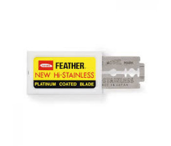 Feather Double Edge Blades 10 stuks