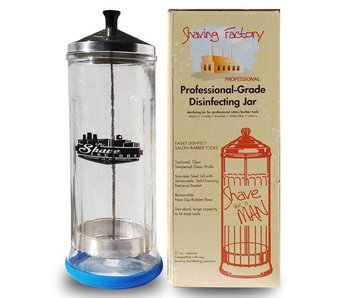The Shave Factory Disinfecting Jar 1.1 Liter