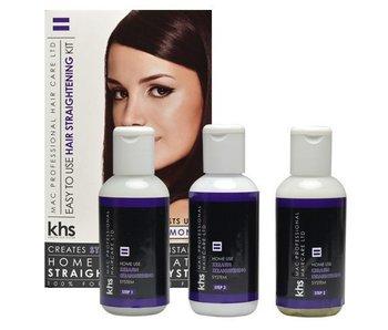 KHS Keratin Home System Smoothing Straightening Kit ( Paars )