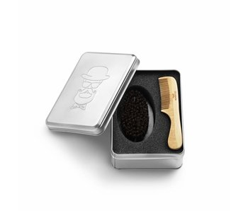 Bratt Barber Kit Comb and Brush