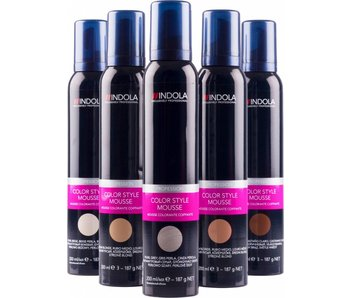 Indola Professional Profession Color Style Mousse 200ml