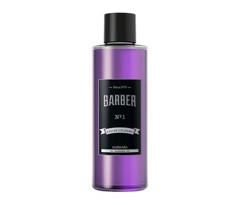 MARMARA BARBER Cologne NO1  Paars 500ml  Glass Bottle