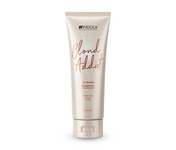 Indola Professional Blond Addict Wash Shampoo 250ml