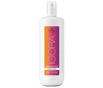 Schwarzkopf Professional Igora Vibrance 4% Gloss & Tone Gel Developer - 1000ml