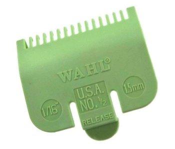 Wahl Opzetkam Plastic 1,5mm Groen