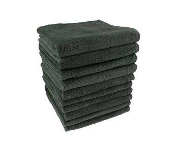 Comair 100% Katoenen Handdoek Zwart 50x80cm - 10 stuks