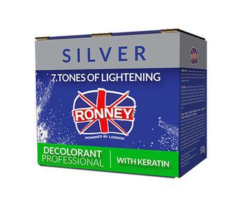 RONNEY Professional Blondeerpoeder  Silver + Keratine 500ml