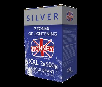 RONNEY Professional Blondeerpoeder  Silver 2x 500 Gr.