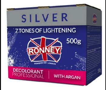 RONNEY Professional Blondeerpoeder  Silver met Argan  500 Gr.