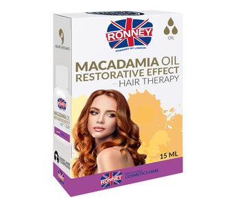 RONNEY Macadamia Oil Restorative Effect Olie 15ml